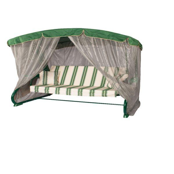 Качели садовые 3-х местн. Leset 902 Green Premium (592 зел)