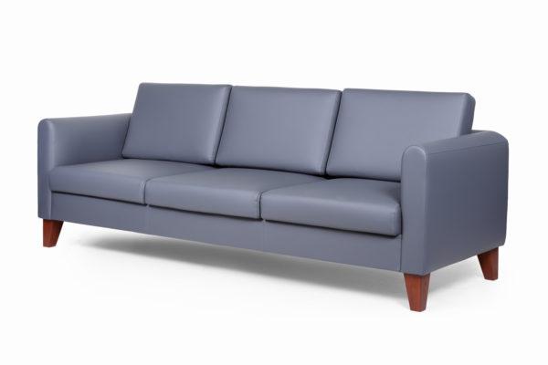 Берген диван 3-х местный ИК ecotex 3022 (серый) (2)