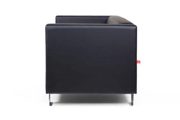 Горизонт двухместный диван, ИК Ecotex, 3001 (черный) (3)