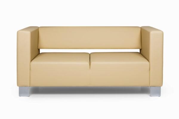 Горизонт двухместный диван, ИК Ecotex, 3015 (светло-бежевый) (1)_1