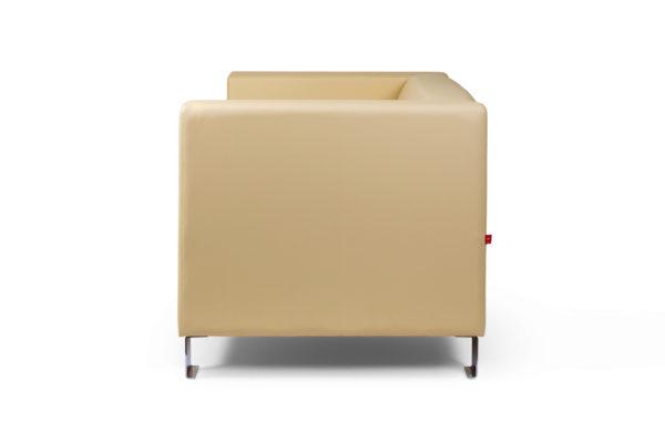 Горизонт двухместный диван, ИК Ecotex, 3015 (светло-бежевый) (3)_1