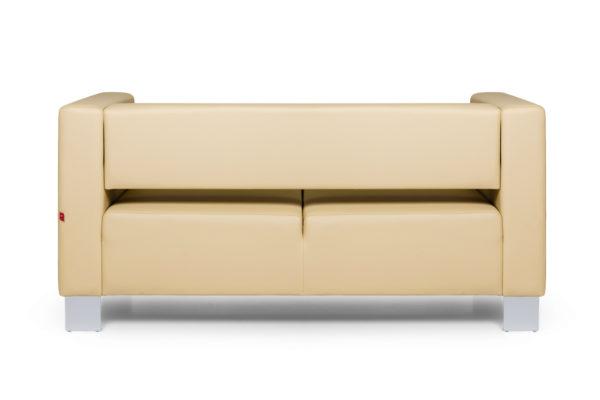 Горизонт двухместный диван, ИК Ecotex, 3015 (светло-бежевый) (4)_1