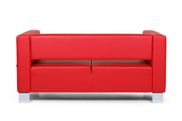 Горизонт двухместный диван, ИК Ecotex, 3023 (красный (4)