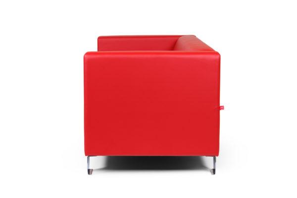 Горизонт двухместный диван, ИК Ecotex, 3023 (красный (5)