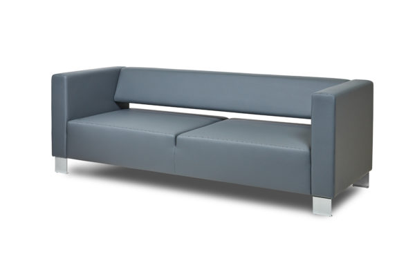 Горизонт трехместный диван, ИК Ecotex, 3022 (темно-серый) (1)