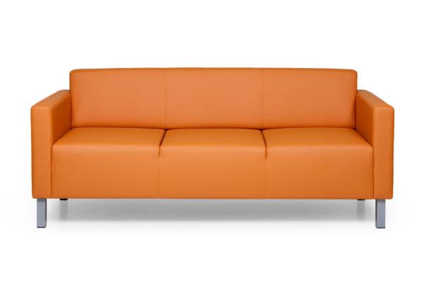 Евро трехместный диван, ИК Ecotex, 3032 (оранжевый) (1)