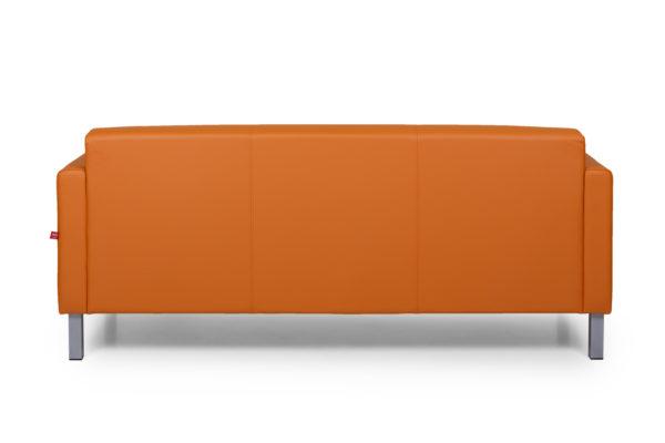 Евро трехместный диван, ИК Ecotex, 3032 (оранжевый) (4)