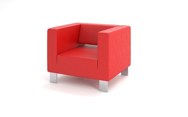 Кресло, ИК Ecotex, 3021 (алый)