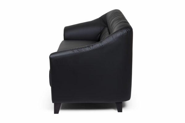 Райт Вуд трехместный диван, ИК Ecotex, 3001 (черный) (11)