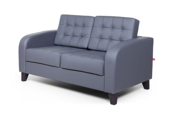 Рольф Вуд двухместный диван, ИК Ecotex, 3022 (темно-серый) (2)