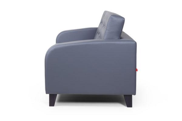Рольф Вуд двухместный диван, ИК Ecotex, 3022 (темно-серый) (3)