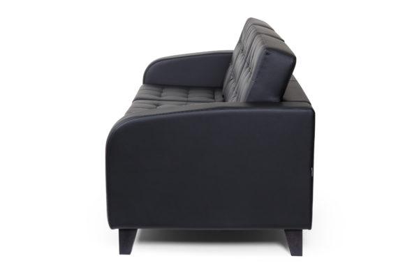Рольф Вуд трехместный диван, ИК Ecotex, 3001 (черный) (3)