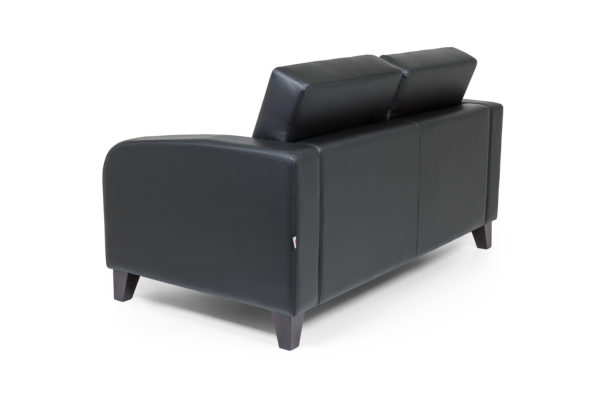 Рольф двухместный диван, ИК Domus, Black (черный) (4)