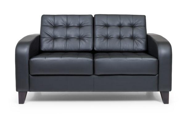 Рольф двухместный диван, ИК Domus, Black (черный) (6)