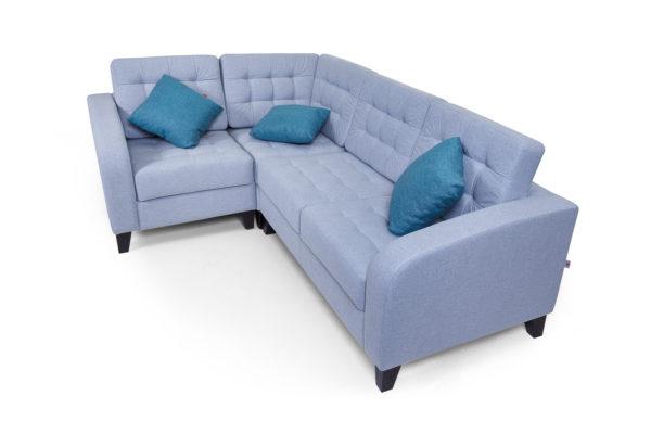 Рольф угловой диван, 1+у+2 Микровелюр Kardif 009 (6)