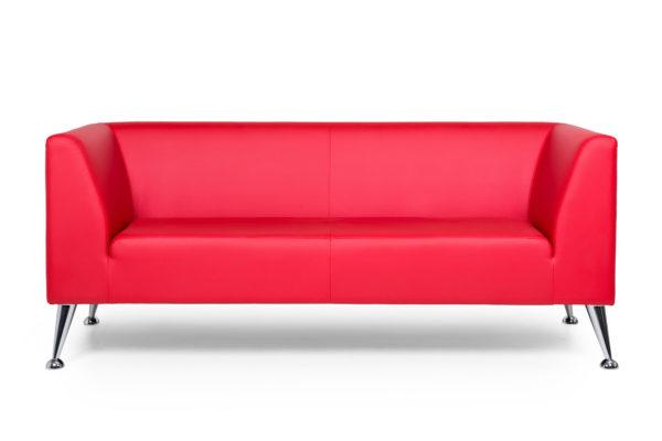 Ультра трехместный диван, ИК Ecotex, 3023 (красный) (1)