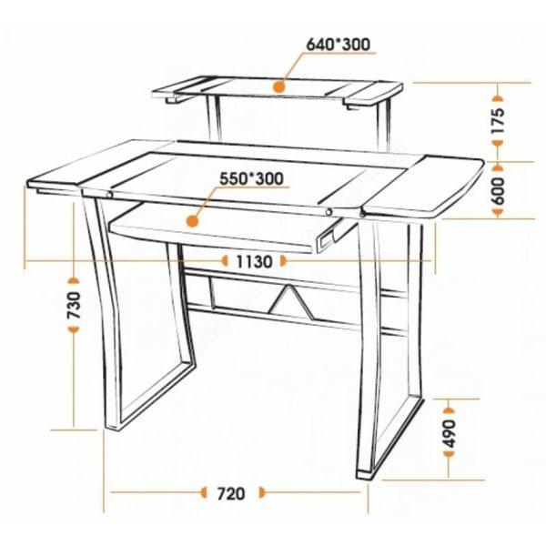 стол Studio WRX-05 Схема