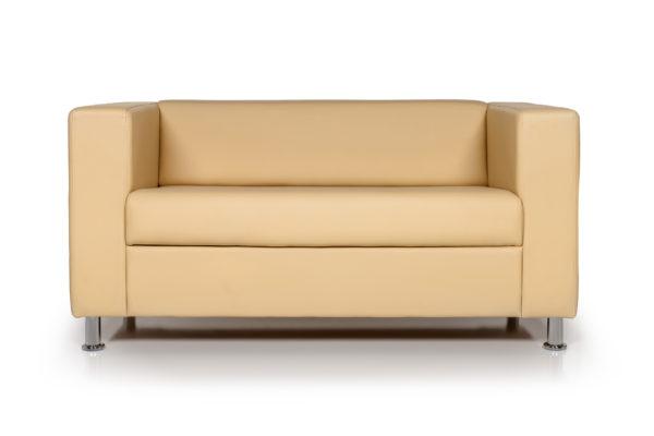 Аполло-двухместный-диван,-ИК-Ecotex-3015-(светло-бежевый)-(1)