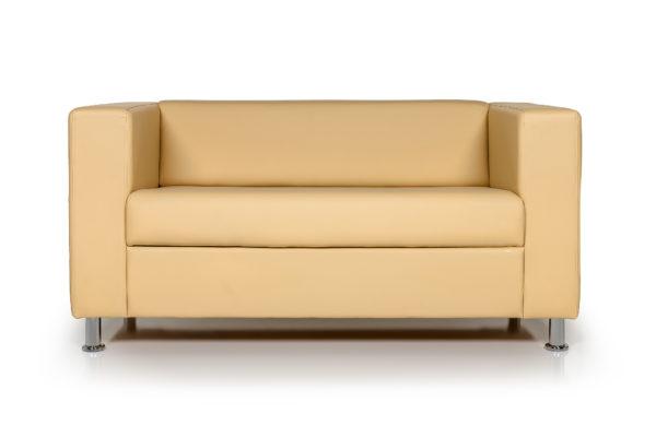Аполло двухместный диван, ИК Ecotex 3015 (светло-бежевый) (1)