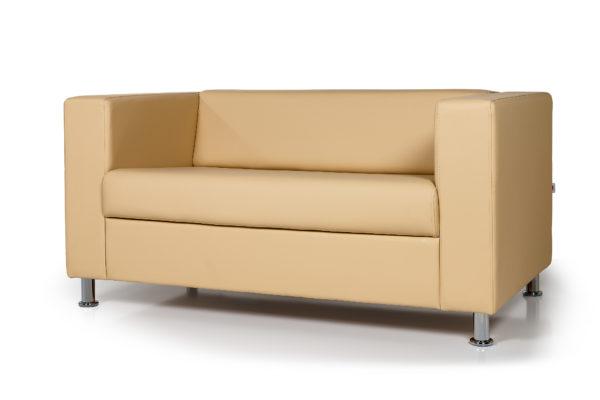 Аполло двухместный диван, ИК Ecotex 3015 (светло-бежевый) (2)