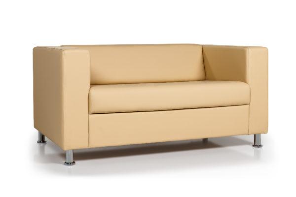 Аполло двухместный диван, ИК Ecotex 3015 (светло-бежевый) (3)