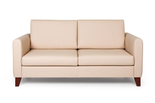 Берген диван 2-х местный ИК ecotex 3015 (светло-бежевый) (2)