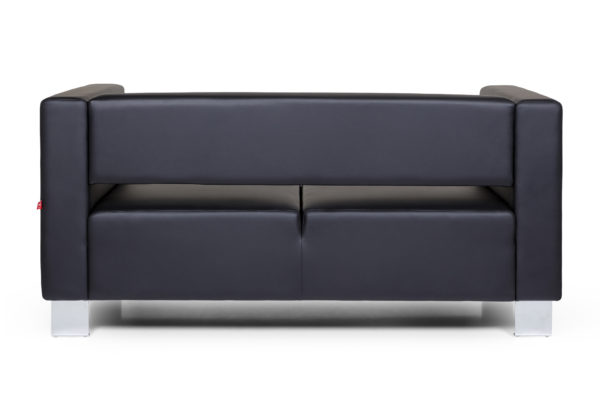 Горизонт двухместный диван, ИК Ecotex, 3001 (черный) (4)