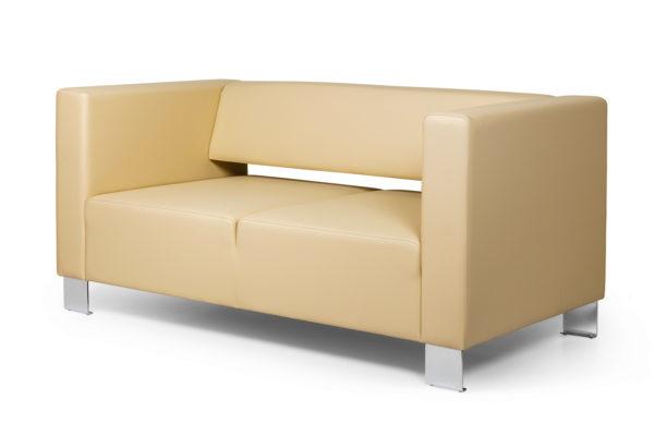 Горизонт двухместный диван, ИК Ecotex, 3015 (светло-бежевый) (2)_1