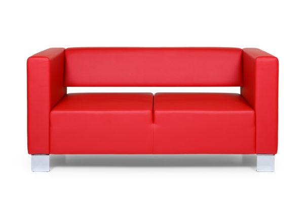 Горизонт двухместный диван, ИК Ecotex, 3023 (красный (1)