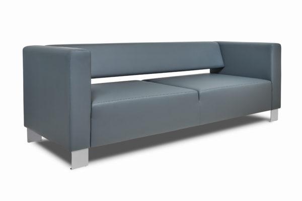 Горизонт трехместный диван,ИК Ecotex, 3022 (темно-серый) (2)