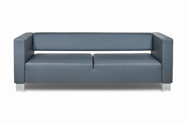 Горизонт трехместный диван,ИК Ecotex, 3022 (темно-серый) (5)