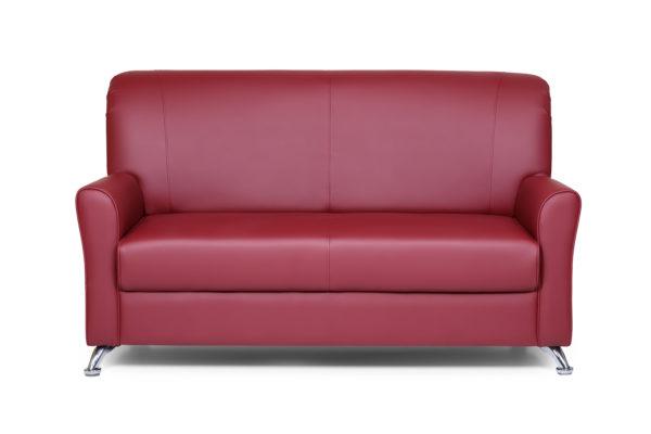 Европа двухместный диван, ИК Ecotex, 3011 (бордовый) (1)