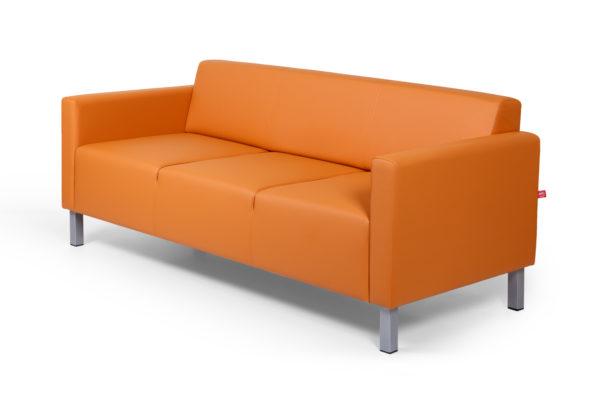 Евро трехместный диван, ИК Ecotex, 3032 (оранжевый) (2)