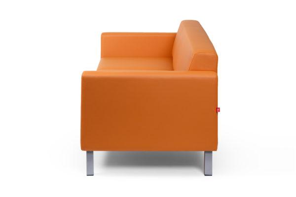 Евро трехместный диван, ИК Ecotex, 3032 (оранжевый) (3)