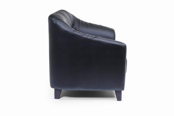 Райт Вуд двухместный диван, ИК Terra, 118 (черный) (4)