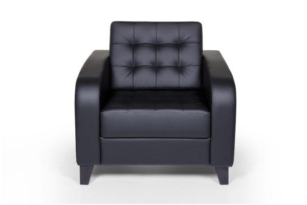 Рольф Вуд кресло, ИК Ecotex, 3001 (черный) (1)