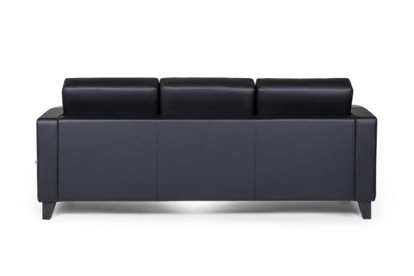 Рольф Вуд трехместный диван, ИК Ecotex, 3001 (черный) (4)