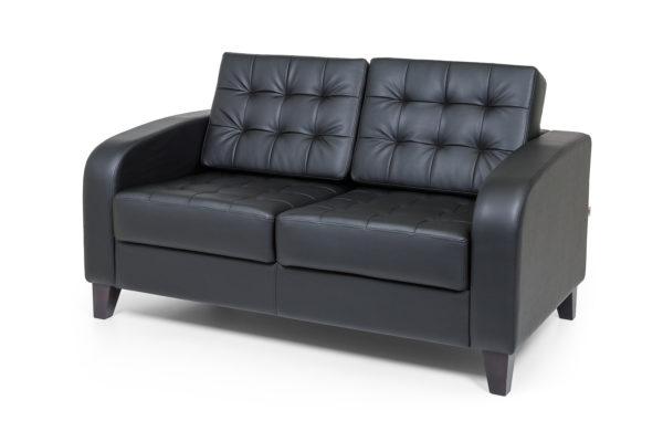 Рольф двухместный диван, ИК Domus, Black (черный) (2)