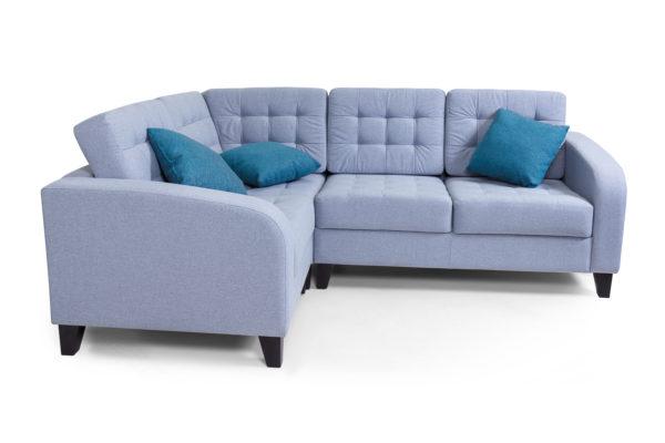 Рольф угловой диван, 1+у+2 Микровелюр Kardif 009 (5)