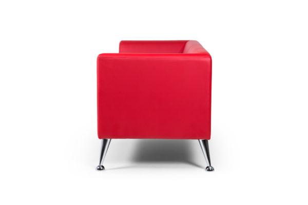 Ультра трехместный диван, ИК Ecotex, 3023 (красный) (3)
