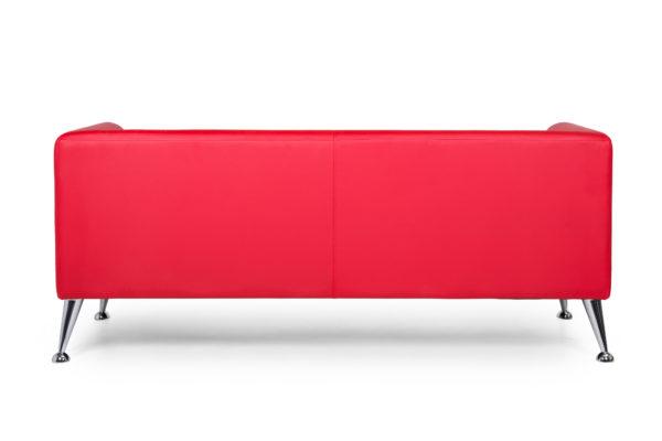 Ультра трехместный диван, ИК Ecotex, 3023 (красный) (4) (1)