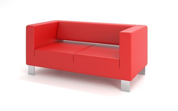 2-местный диван, ИК Ecotex, 3021 (алый)
