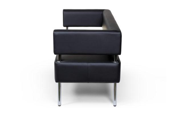 MC диван 3-х местный, ИК Ecotex 3001 (черный) (3)
