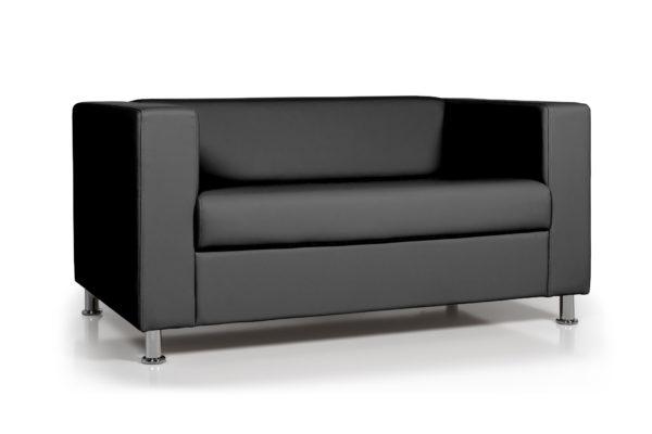 WEB Аполло двухместный диван, ИК Ecotex 3001 черный 2