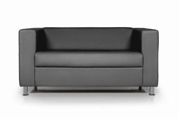 WEB Аполло двухместный диван, ИК Ecotex 3001 черный
