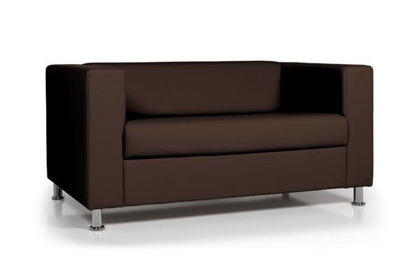 WEB Аполло двухместный диван, ИК Ecotex 3029 темно коричневый 2