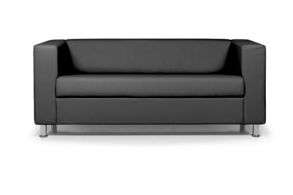 WEB Аполло трехместный диван, ИК Ecotex 3001 черный